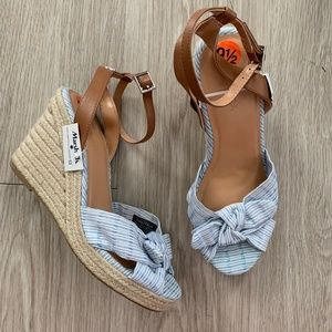 Nautica Womens Curia Espadrille Wedge Sandals 9.5